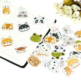 🚚 🌟BN INSTOCKS Adorable Assorted Animals Stickers Box