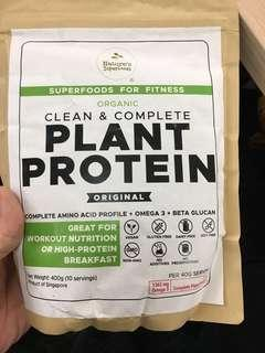 Nature's Superfoods Organic Clean and Complete Plant Protein