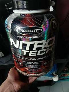Nitrotech whey protein+lean muscle