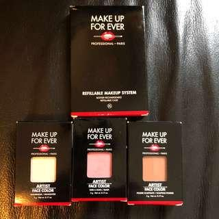 年底清屋!包郵!全新!   Makeup forever face palette