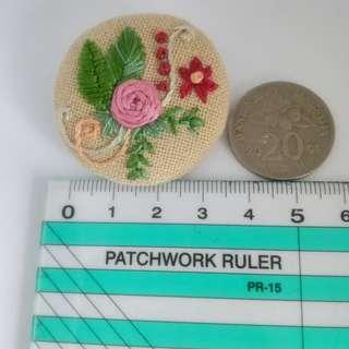 Embroidery brooch code# EP102B3.5F