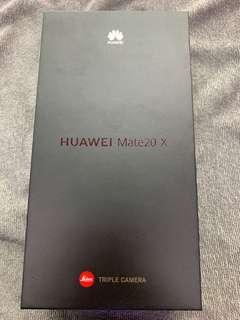 Huawei Mate 20x midnight blue