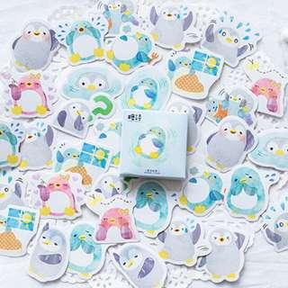 🚚 🌟BN INSTOCKS Adorable Assorted Penguin Stickers Box