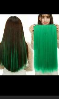 (NO INSTOCKS!)Preorder korean straight clip on hair extension *waiting time 15 days after payment is made *pm to order