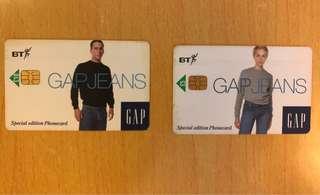 英國電話亭珍藏電話卡Gap