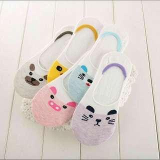 INSTOCK ulzzang cute animal socks