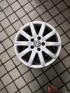 """Volkswagen 16"""" rim for sale. To sell off 4 as a set."""
