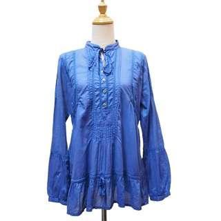 ZARA Basic Boho Lace Blouse
