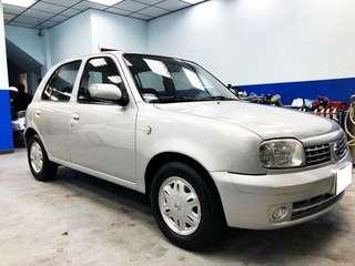 06  NISSAN MARCH 1.3  低🈷️付 全額貸