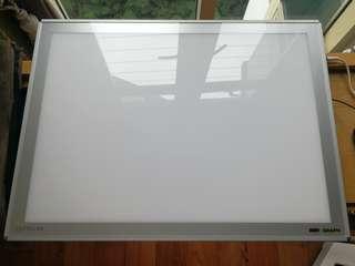 Artograph Lightbox (slightly smaller than A1 paper) - Model name: LightPad 950