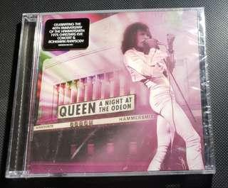 QUEEN A NIGHT AT THE ODEON CD 完封未拆 美版