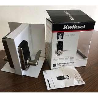 Kwikset Electronic Lever Lock