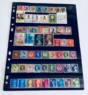 Lot of Mixed World Old Stamps
