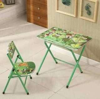 Table and chair ( for kids )