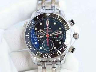 Omega Seamaster Diver 300M Chronograph Swiss Engine 7750