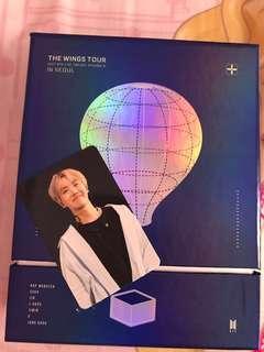 BTS WINGS TOUR FULL SET