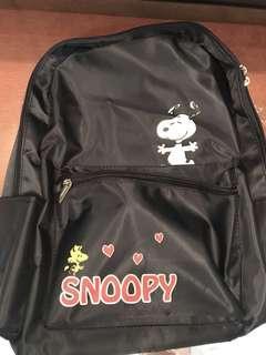 🎒緞面高質感史努比Snoopy後背包