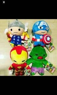 [XMAS PROMO🎄] Avengers Marvel Soft Toys