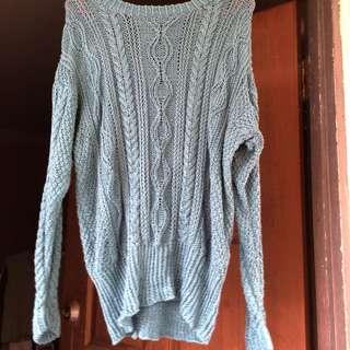 Knitted Sweater / Knitwear Top / Sweatshirt