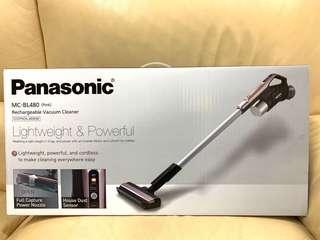 🈹全新行貨Panasonic MC-BL480 無線吸塵機 (Pink) (原價$3,380)