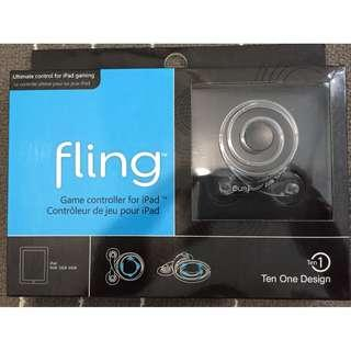 Fling game controller for ipad