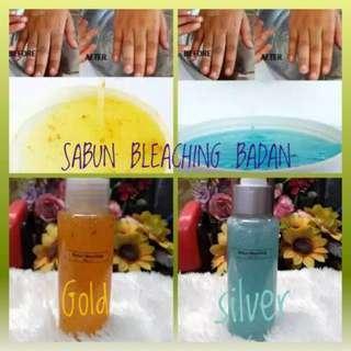 BLEACHING BODY SHOWER  SILVER & GOLD