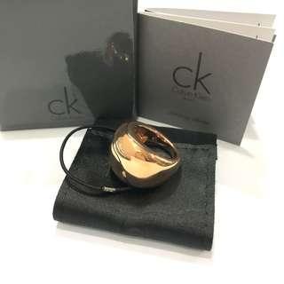 Calvin Klein Rose Gold Metal Ring 187005727