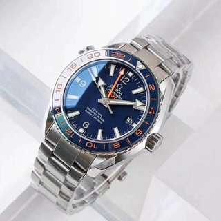 Omega Seamaster Planet Ocean GMT Swiss Engine 8605
