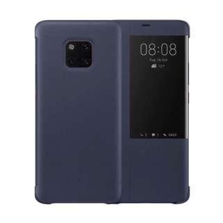 •BN• Huawei Smart View Flip Cover Huawei Mate 20 Pro Blue