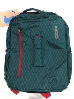 American Tourister Acro+ backpack 02 Teal blue