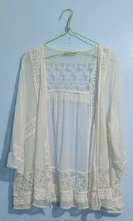 Pull&bear cardigan lace