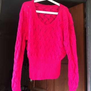 Knitted Sweater / Knitwear Top