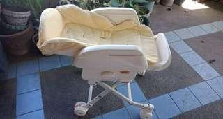 Multi-functional bed/bouncer/chair