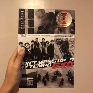 Don't Mess Up My Tempo EXO Album DMUMT