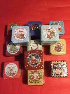 12 罐 聖誕節禮盒(鐵罐)➕2010 年[牡丹王/白茶];如柤片所示