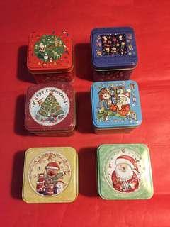 6 罐 精緻聖誕節禮盒(鐵罐)➕2010 年 [牡丹王/白茶];如相片所示