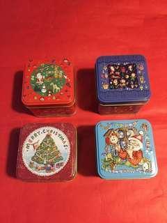 精緻聖誕節禮盒(鐵盒)➕2010 年[牡丹王/白茶]:4 盒;如相片所示