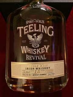 Single Malt Irish Whisky: [TEELING WHISKY ( REVIVAL)]; Aged 15 Years; As Shown