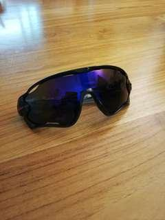 Cycling sunglasses for outdoor fishing or running use