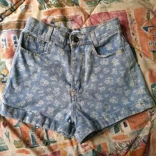 American Apparel Inspired High Waisted Shorts