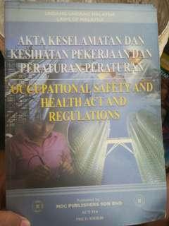 Akta Keselamatan dan Pekerjaan dan Peraturan-peraturan