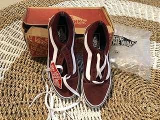 Vans Old Skool Sepatu Maroon (KW)