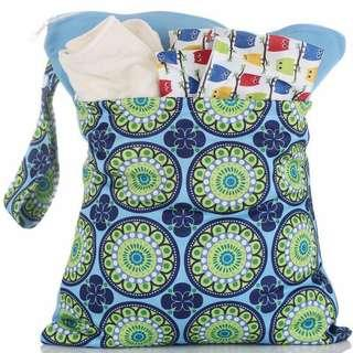 Double Zipper Wet Bag for Cloth Diapers and Wet Bags