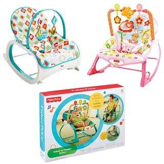 🚚 [Pre-order] Fisher-Price Infant-to-Toddler Rocker, Multiple Designs Available