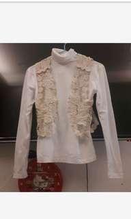 🚚 【新】波希米亞背心+純棉高領內搭衣