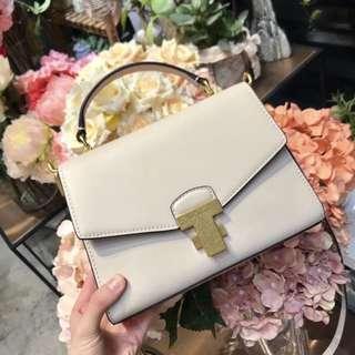 Authentic Tory Burch Juliette chain mini sling bag