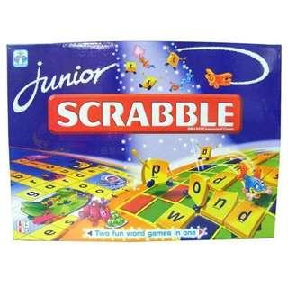 Brand new scrabble junior