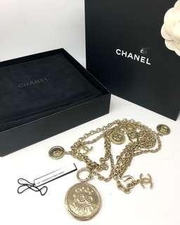 CHANEL 100th Year Anniversary B14P Long Necklace 187005791