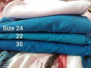 Tudung & kain sekolah menengah
