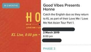 Honne @ KL Live 2019